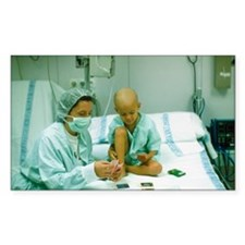 Leukaemia patient Decal