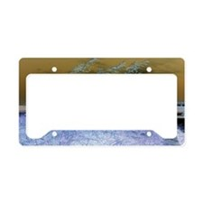 Blue Sea Oats License Plate Holder