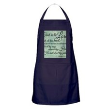 Trust  in the Lord Apron (dark)