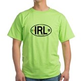 Ireland Intl Oval  T-Shirt