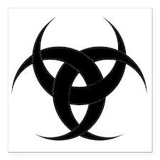 """Odin Square Car Magnet 3"""" x 3"""""""