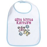 Cute Little Kaitlyn Bib