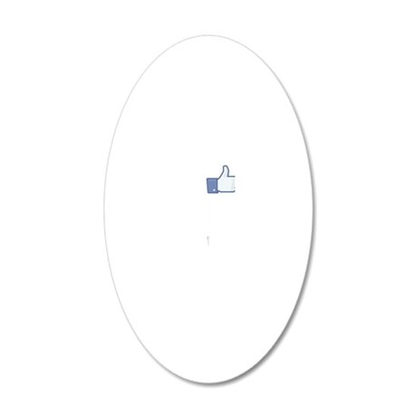 I-Like-Cello-01-b 20x12 Oval Wall Decal