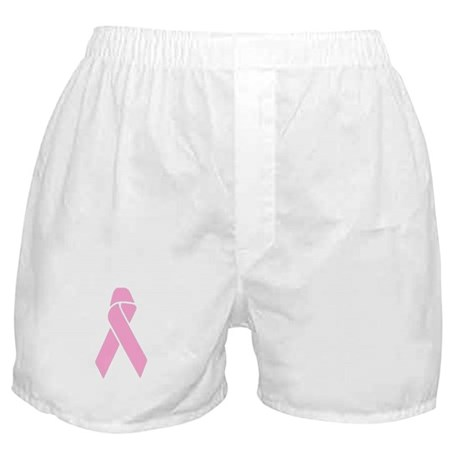 Pink Ribbon Boxer Shorts