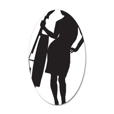 Cello-Player-03-a 35x21 Oval Wall Decal