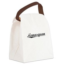 Manasquan, Vintage Canvas Lunch Bag