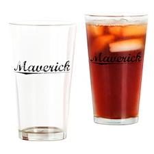 Maverick, Vintage Drinking Glass
