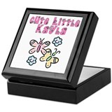 Cute Little Kayla Keepsake Box