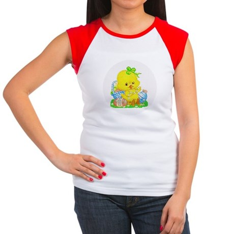 Easter Duckling Women's Cap Sleeve T-Shirt