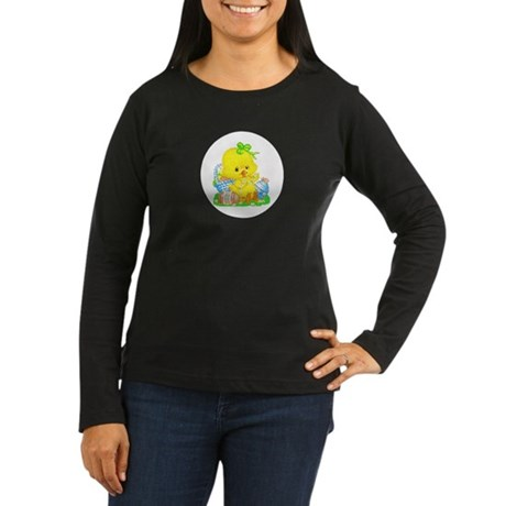 Easter Duckling Women's Long Sleeve Dark T-Shirt