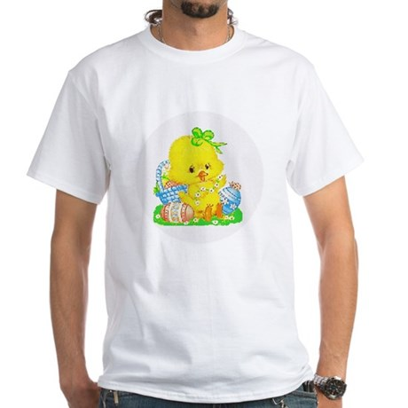 Easter Duckling White T-Shirt