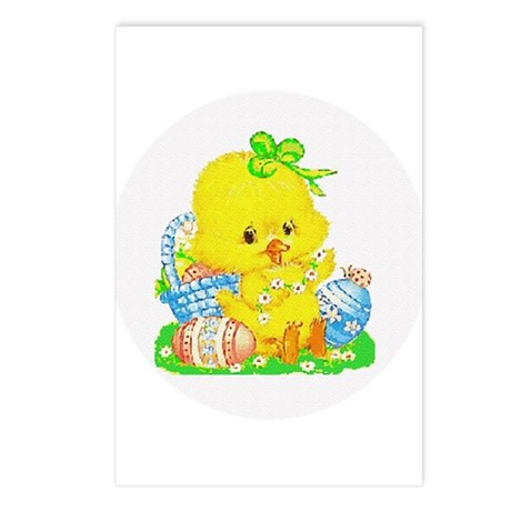 Easter Duckling Postcards (Package of 8)