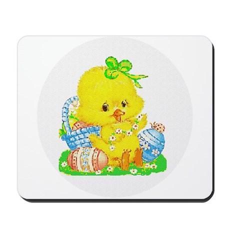 Easter Duckling Mousepad