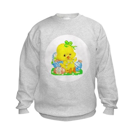 Easter Duckling Kids Sweatshirt