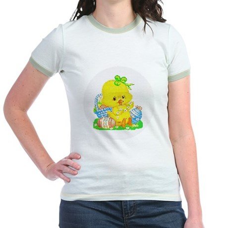 Easter Duckling Jr. Ringer T-Shirt