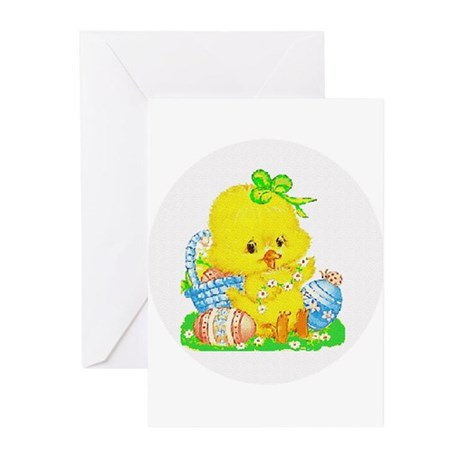 Easter Duckling Greeting Cards (Pk of 10)