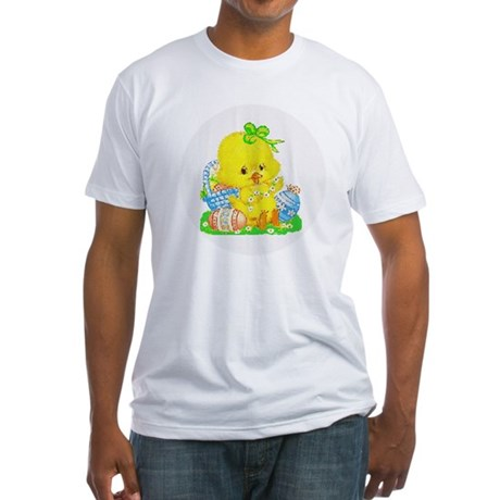 Easter Duckling Fitted T-Shirt