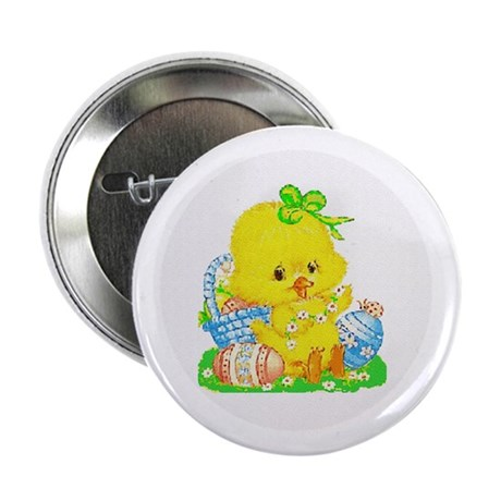 "Easter Duckling 2.25"" Button (10 pack)"