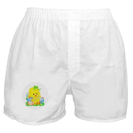 Easter Duckling Boxer Shorts