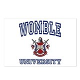 WOMBLE University Postcards (Package of 8)