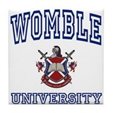 WOMBLE University Tile Coaster