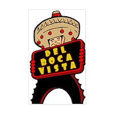 """""""Visit Del Boca Vista"""" Decal"""