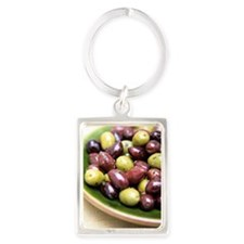 Mixed olives Portrait Keychain