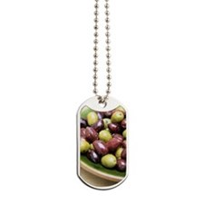 Mixed olives Dog Tags