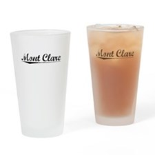 Mont Clare, Vintage Drinking Glass