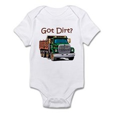 Dump Truck Infant Bodysuit