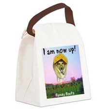 Barney Boots - I Am Now Up Canvas Lunch Bag