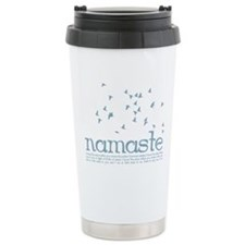 Namaste Ceramic Travel Mug