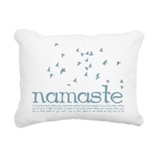 Namaste Rectangular Canvas Pillow