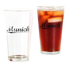 Munich, Vintage Drinking Glass