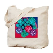 Papilloma viruses Tote Bag