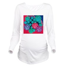Papilloma viruses Long Sleeve Maternity T-Shirt