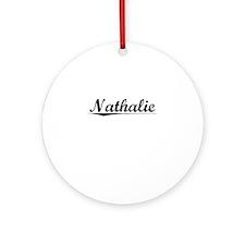 Nathalie, Vintage Round Ornament