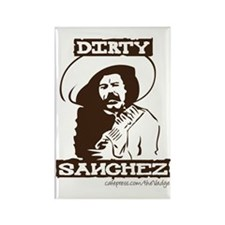 Dirty Sanchez II Rectangle Magnet
