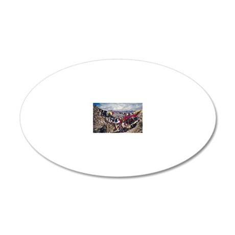 23896356 20x12 Oval Wall Decal