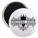 Digital Diva Magnet