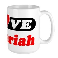 I Love Zachariah Coffee Mug