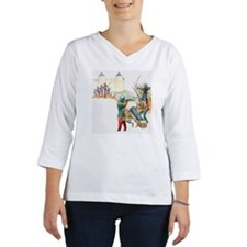 Scene from the Siege of Orleans Women's Long Sleeve Shirt (3/4 Sleeve)