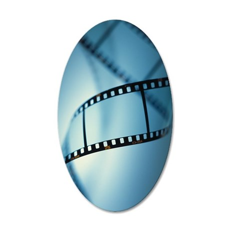 Photographic film 35x21 Oval Wall Decal