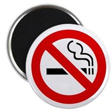 "No Smoking Symbol 2.25"" Magnet (10 pack)"