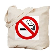 No Smoking Symbol Tote Bag