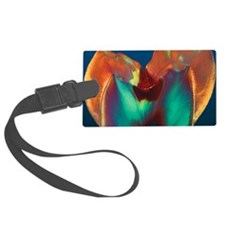 Polarised LM of a molar tooth sh Luggage Tag