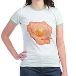 Peach Rose Jr. Ringer T-Shirt