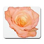 Peach Rose Mousepad