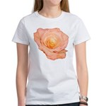 Peach Rose Women's T-Shirt