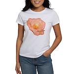 Peach Rose Women's T-Shirt